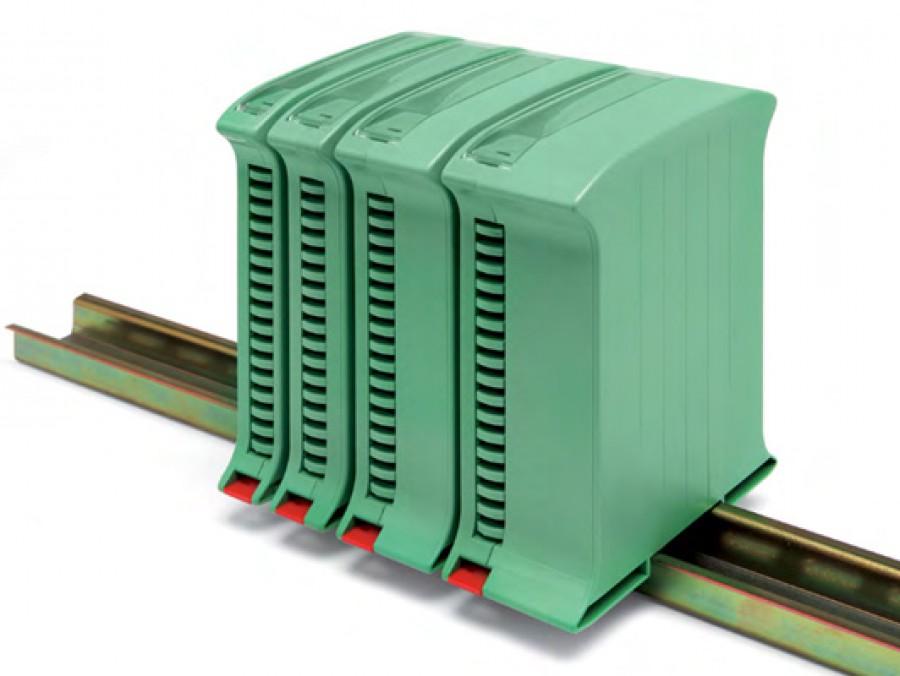 din rail mount enclosure enclosures for industrial device railbox vertical multilevel